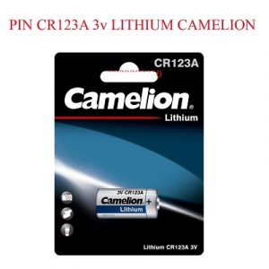 pin camelion cr123a 3v